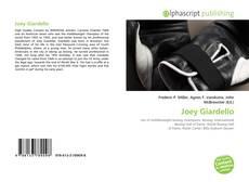 Portada del libro de Joey Giardello