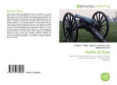 Bookcover of Battle of Graz