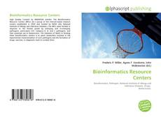 Bookcover of Bioinformatics Resource Centers