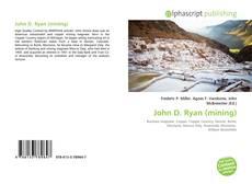 Обложка John D. Ryan (mining)