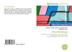 Portada del libro de Irina Slutskaya