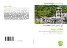 Buchcover von Maya Stelae