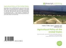 Borítókép a  Agricultural Policy of the United States - hoz