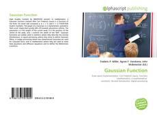 Capa do livro de Gaussian Function