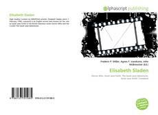 Обложка Elisabeth Sladen