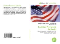 Bookcover of Coalition Provisional Authority