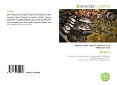 Buchcover von Taxon