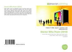 Copertina di Doctor Who Prom (2010)