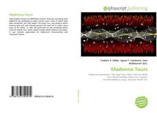 Buchcover von Madonna Tours