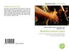 Copertina di Metallica Concert Tours