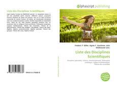 Bookcover of Liste des Disciplines Scientifiques