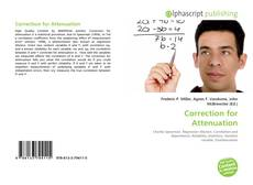 Bookcover of Correction for Attenuation