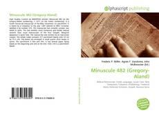 Minuscule 482 (Gregory-Aland)的封面