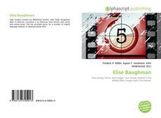 Bookcover of Elise Baughman