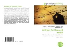 Bookcover of Anthem for Doomed Youth