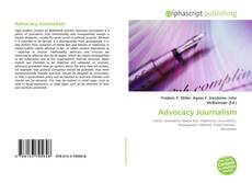Bookcover of Advocacy Journalism