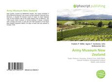 Bookcover of Army Museum New Zealand