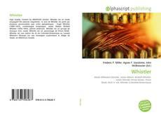 Capa do livro de Whistler
