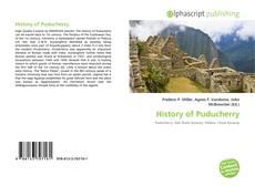 Portada del libro de History of Puducherry