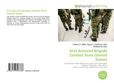 Обложка 81st Armored Brigade Combat Team (United States)