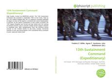 Bookcover of 13th Sustainment Command (Expeditionary)