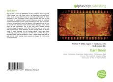 Bookcover of Earl Boen