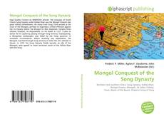 Bookcover of Mongol Conquest of the Song Dynasty