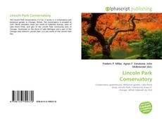 Capa do livro de Lincoln Park Conservatory