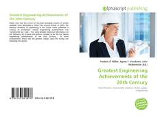 Couverture de Greatest Engineering Achievements of the 20th Century