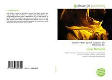 Lisa Nowak kitap kapağı