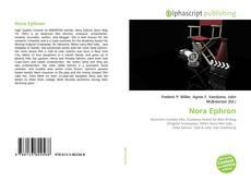 Обложка Nora Ephron