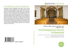 Обложка First Presbyterian Church of Redmond