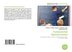 Bookcover of Fundamental Representation