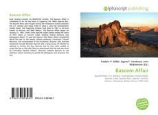 Capa do livro de Bascom Affair