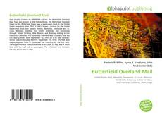 Copertina di Butterfield Overland Mail