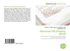 Minuscule 788 (Gregory-Aland)的封面