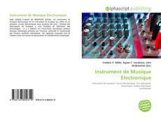 Обложка Instrument de Musique Électronique