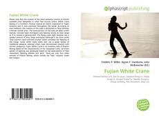Portada del libro de Fujian White Crane