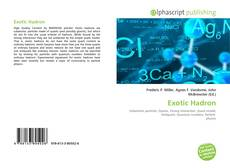 Bookcover of Exotic Hadron