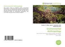 Обложка Environmental Anthropology