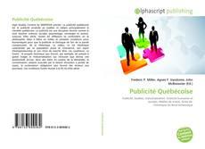 Copertina di Publicité Québécoise