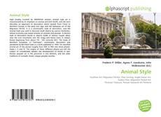 Buchcover von Animal Style
