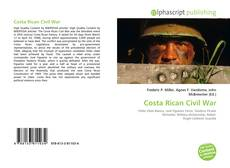 Capa do livro de Costa Rican Civil War
