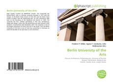 Bookcover of Berlin University of the Arts