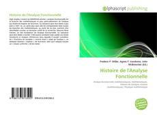Обложка Histoire de l'Analyse Fonctionnelle