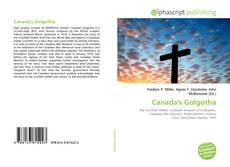 Bookcover of Canada's Golgotha