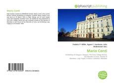 Mario Conti kitap kapağı