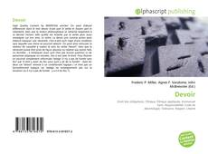Bookcover of Devoir