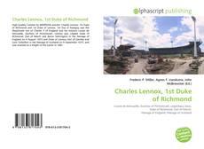 Charles Lennox, 1st Duke of Richmond kitap kapağı