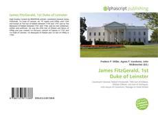 Buchcover von James FitzGerald, 1st Duke of Leinster